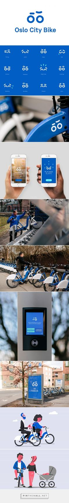 Las bicicletas públicas de Oslo estrenan imagen corporativa | Brandemia_... - a grouped images picture - Pin Them All. If you like UX, design, or design thinking, check out theuxblog.com
