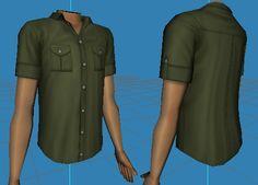 http://catofevilgenius.tumblr.com/post/134816789818/outback-shirt-and-shorts