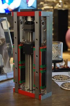 BUILD LOG: El Beast - Initial design phase, comments and critique welcomed! Cnc Router Plans, Cnc Plans, Diy Cnc Router, Cnc Lathe, Router Machine, Cnc Milling Machine, Machine Tools, Cool Slides, Router Projects