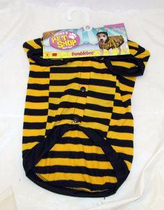 Rubie's Pet Shop Boutique Bumblebee Honey Bee Halloween Little Dog Costume Med…