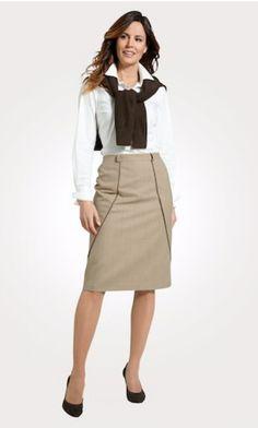 Erhältlich im online shop von mona.de mit 5% Cashback für KGS Partner Waist Skirt, High Waisted Skirt, Im Online, Mona, Skirts, Shopping, Fashion, Fashion Women, Woman