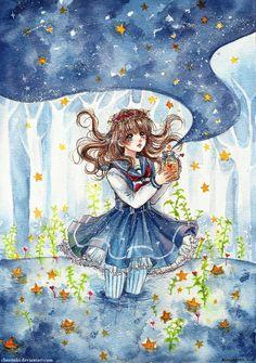 Star Stream by cherriuki.deviantart.com on @deviantART