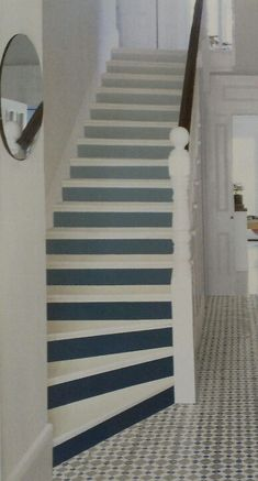 Ombre stairs. Nice.