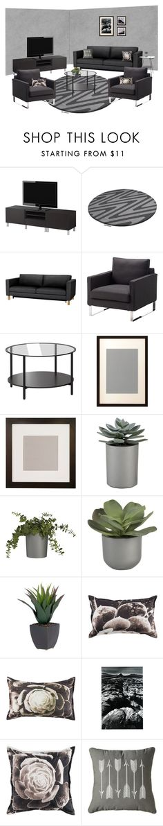 gray desert. by tothineownselfbtrue on Polyvore featuring interior, interiors, interior design, home, home decor, interior decorating, Sivik, Aidan Gray, Crate and Barrel and Zink