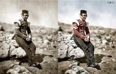 Sergeant of the British Light Infantry - Crimea - 1855 (by Roger Fenton)