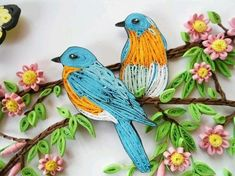 Paper quilling is an amazing craft which presents papers in a new dimension. You can create beautiful art with different colors of papers. Thin strips of quality papers are usually considered best for quilling.