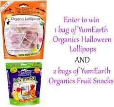 YumEarth Organic Candy Giveaway
