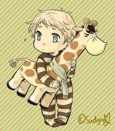 No one understands just how much I love giraffes; this is too cute for words.
