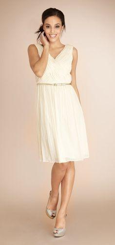 Carrie Candlelight - Bridesmaid Dresses    Weddington Way, $165    Loveeeee!