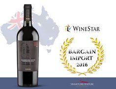 #bargainimport2016 #bestwine #basilicatawine #vinobasilicata #migliorimportaustralia #winestaroftheyear #aglianicodelvulture #senzasolfiti