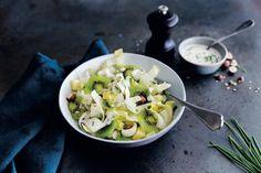 #Recette #Salade d' #endives et #kiwis