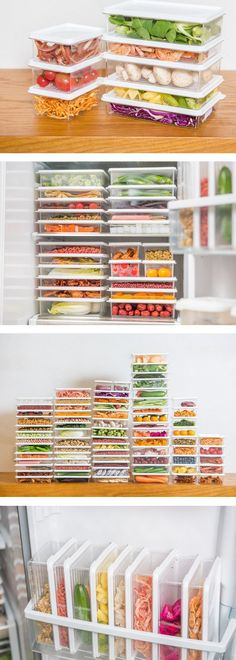 KCASA Stackable Refrigerator Freezer Storage Box Stack Food Container Tray Organizer is fashionable and cheap, come to NewChic to see more trendy KCASA Stackable Refrigerator Freezer Storage Box Stack Food Container Tray Organizer online Mobile. Fridge Drawers, Freezer Storage, Refrigerator Organization, Kitchen Refrigerator, Refrigerator Freezer, Freezer Containers, Food Containers, Storage Containers, Storage Baskets