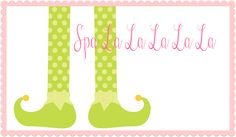 Spa La La La La Spaliday Party Printables