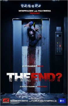 """THE END? (2017/2018) """"Claudio Verona is a young and cynical businessman, who one day gets locked in his office elevator before an important meeting with a client. This annoying obstacle will soon turn into a nightmare, as a deadly virus outside has begun to infect and transform people into extremely violent and dangerous zombies. Claudio has to get out of this claustrophobic space, but it seems that the elevator may be the safest place in the city."""""""