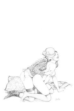 Lesbian Drawing, art