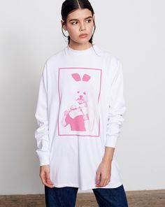 Lazy Oaf Dolly Dog T-Shirt - Everything - Categories - Womens
