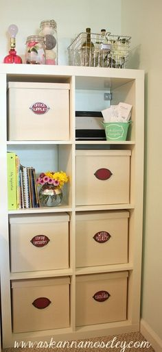 Lots of Craft Room Organization Ideas - Ask Anna