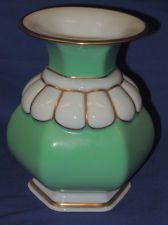 """Vase Modell von Ph. Rosenthal. Selb Bavaria. 5.5"""" Bavaria, Vases, Ph, Green, Gold, Ebay, Design, Decor, Scale Model"""