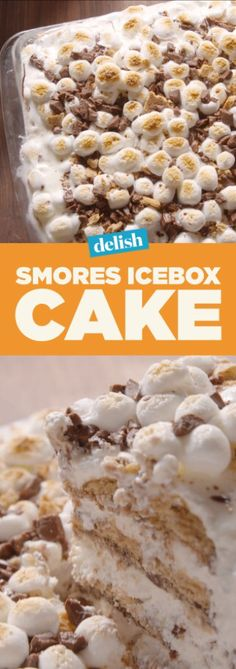 S'mores icebox cake is the coolest dessert of the summer. Get the recipe on Delish.com.