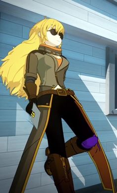 Yang's new outfit RWBY volume 4