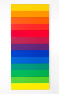 Spectrum II (1966-67, oil on canvas) byEllsworth KellyMarriage equality in the U.S. 6/26/15.