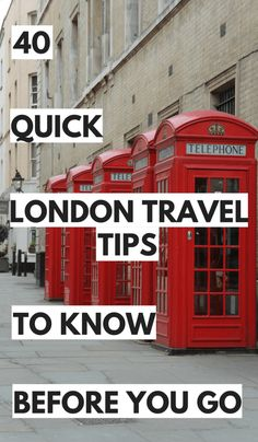 Sweet and Spicy Bacon Wrapped Chicken Tenders Travel tips 2019 Have you got a trip to London coming up? Here are 40 quick and helpful London travel tips I put together for you. You'll need to know these before visiting! Sightseeing London, London Travel, London England Travel, European Vacation, European Travel, Minimalist Travel, Cool Places To Visit, Places To Travel, Travel Guides