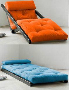 Figo Futon is a versatile chaise lounge