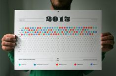 It's a great time to get organized and what better way than with awesome calendar? So in this post i have collected some awesome and creative 2015 calendars for your inspiration.