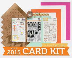 Yes, Virginia...: Simon Says Stamp April Card Kit--Take 2!!