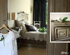 Chambre au style rocaille