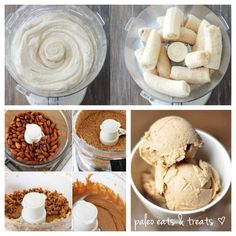 Learn how to Make your own Raw Banana & Almond Butter Ice Cream