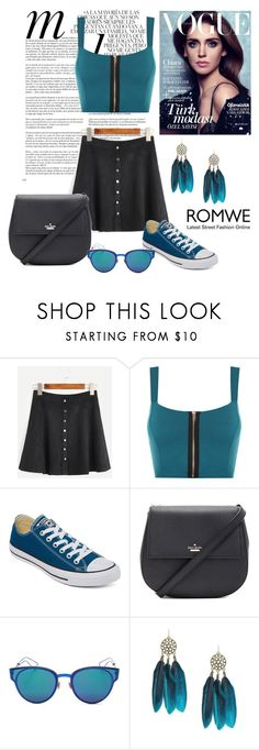 """""""mint"""" by ljubicica-malaa ❤ liked on Polyvore featuring Whiteley, WearAll, Converse, Kate Spade and Christian Dior"""