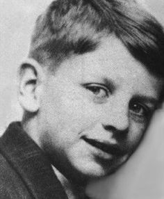 Ringo as a child