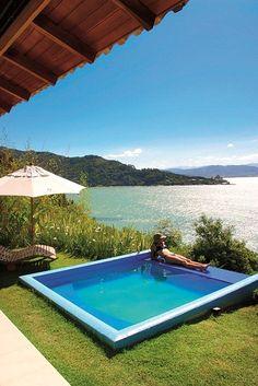 Vila Bungalow do Ponta dos Ganchos Exclusive Resort, em Governador Celso Ramos - SC. #Travel #BoutiqueHotel #Brazil #Charm