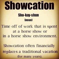 I need a showcation -
