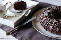 Ciambella al cacao e cocco senza burro - buona e leggera