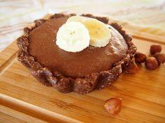 Banana Nut Tart (Gluten, Dairy & Refined Sugar Free & Paleo)  #HungryCub