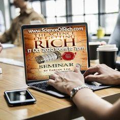 Science of Getting Rich Free Webinar by Fabian Lim
