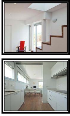 #Decoracion #Moderno #Cocina #Escalera #Encimeras #Mobiliario de cocina #Mesas de comedor #Comodas #Sillones #Griferia #Peldaños #Ventanas #Puertas #Vidrio #Sillas