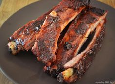 Classic BBQ Rib Sauce ~ This sauce certainly produces a great rack of BBQ Ribs. Whether they are smoked low and slow or baked in the oven, this BBQ Rib sauce will add a touch of heat, a bit of smoke, and a lot of flavor. Bbq Rib Sauce, Barbecue Sauce Recipes, Pulled Pork Recipes, Rib Recipes, Grilling Recipes, Great Recipes, Cooking Recipes, Bbq Sauces, Smoker Recipes