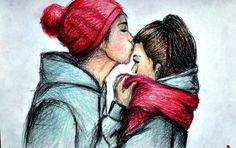 cute couple sketch. Google search. Book