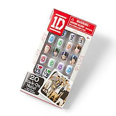 One Direction Stick-On Nails