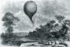 A Union balloon makes aviation history over Hampton Roads 155 years ago today. http://bit.ly/2akIvXo -- Mark St. John Erickson