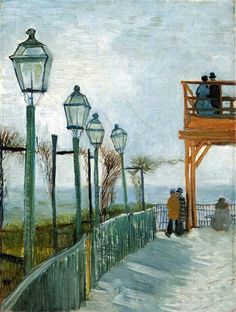 Van Gogh, Montmartre near the Upper Mill