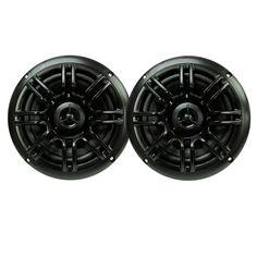 "Milennia SPK652B 6.5"", 2-Way Marine Speakers - 150W - Black"