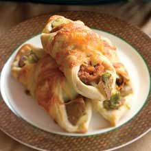 Early Bird Breakfast - Green Chile, Sausage, and Potato Crescents - New Mexico Magazine
