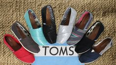TOMS are the shoes with a global conscious. 7% cashback and a donation to help a child is made. Shop here now. #TopCashBack #HongKong