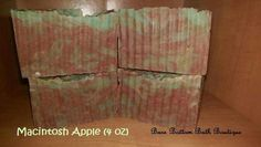 Macintosh Apple Double Butter Soap