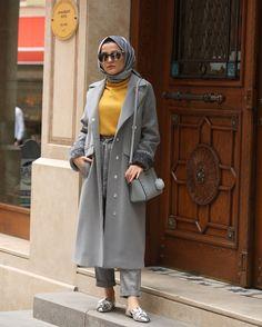 Hijab Chic, Casual Hijab Outfit, Casual Dresses, Muslim Fashion, Modest Fashion, Fashion Outfits, Gilet Long, Muslim Long Dress, Hijab Fashionista