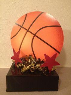 Basketball Centerpieces   Basketball Centerpiece
